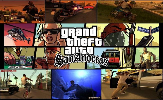 بازی GTA San Andreas برای PC   www.MihanGame.com