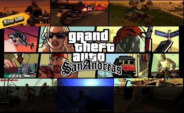 بازی GTA San Andreas برای PC