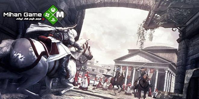 دانلود بازی Assassins Creed Brotherhood نسخه ی فشرده ی Black Box برای PC | www.MihanGame.com