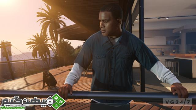 اسکرین شات های جدید از عنوان محبوب GTA V منتشر شد | www.MihanGame.com