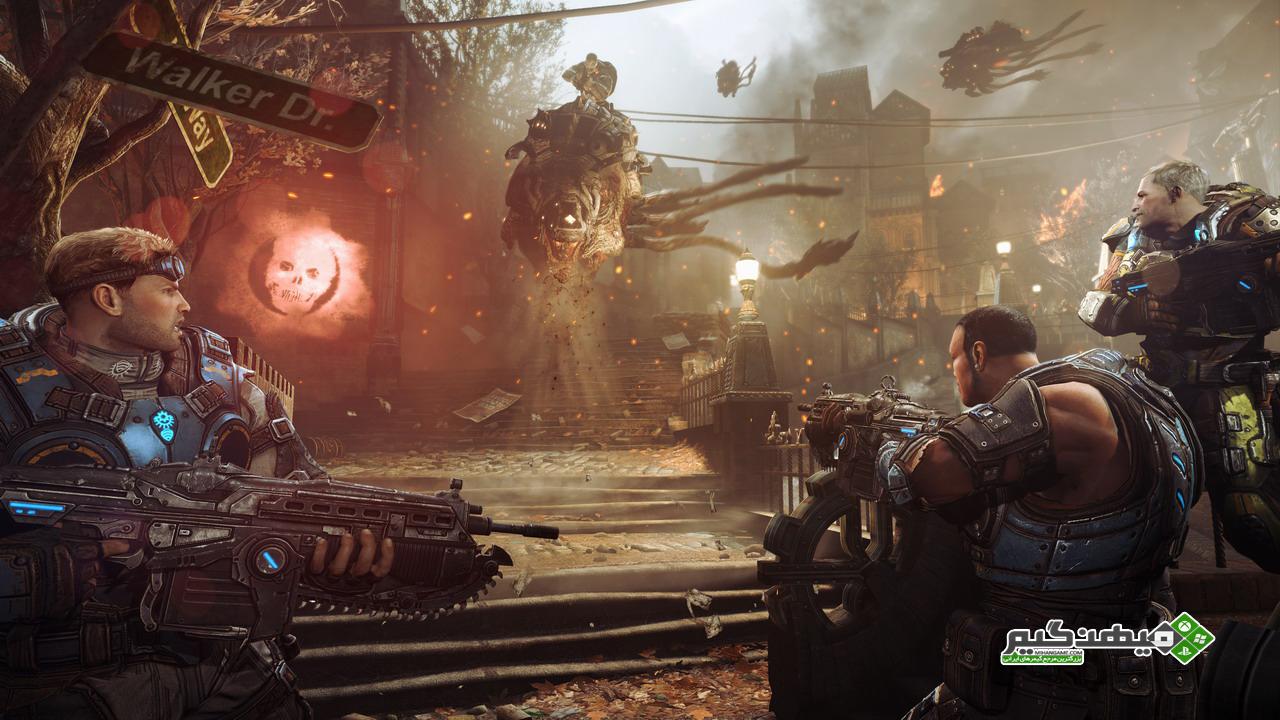دانلود نسخه ی کم حجم بازی Gears Of War | www.MihanGame.com