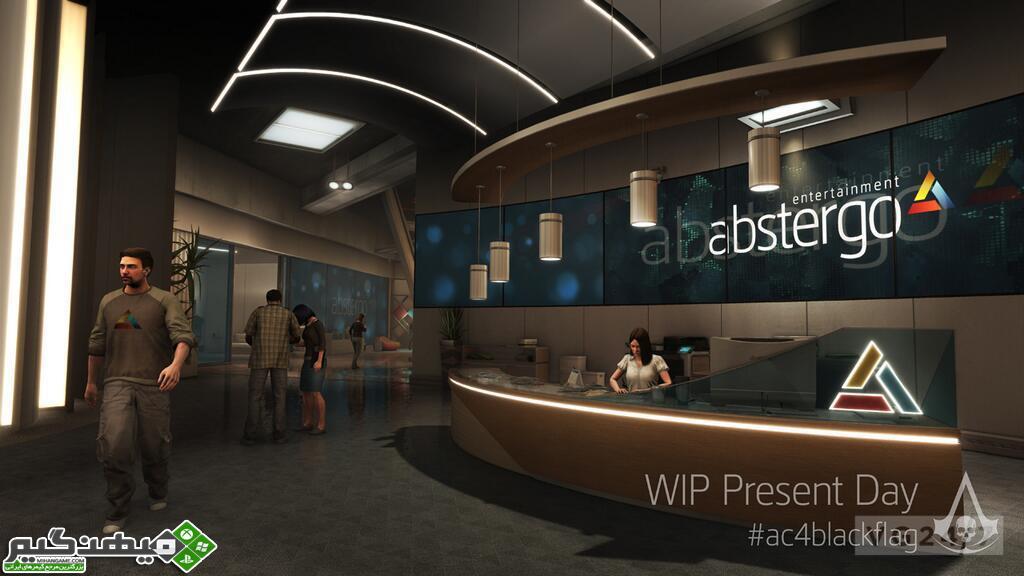 اولین اسکرین شات های بازی Assassin's Creed IV: Black Flag در نسل امروزی | www.MihanGame.com