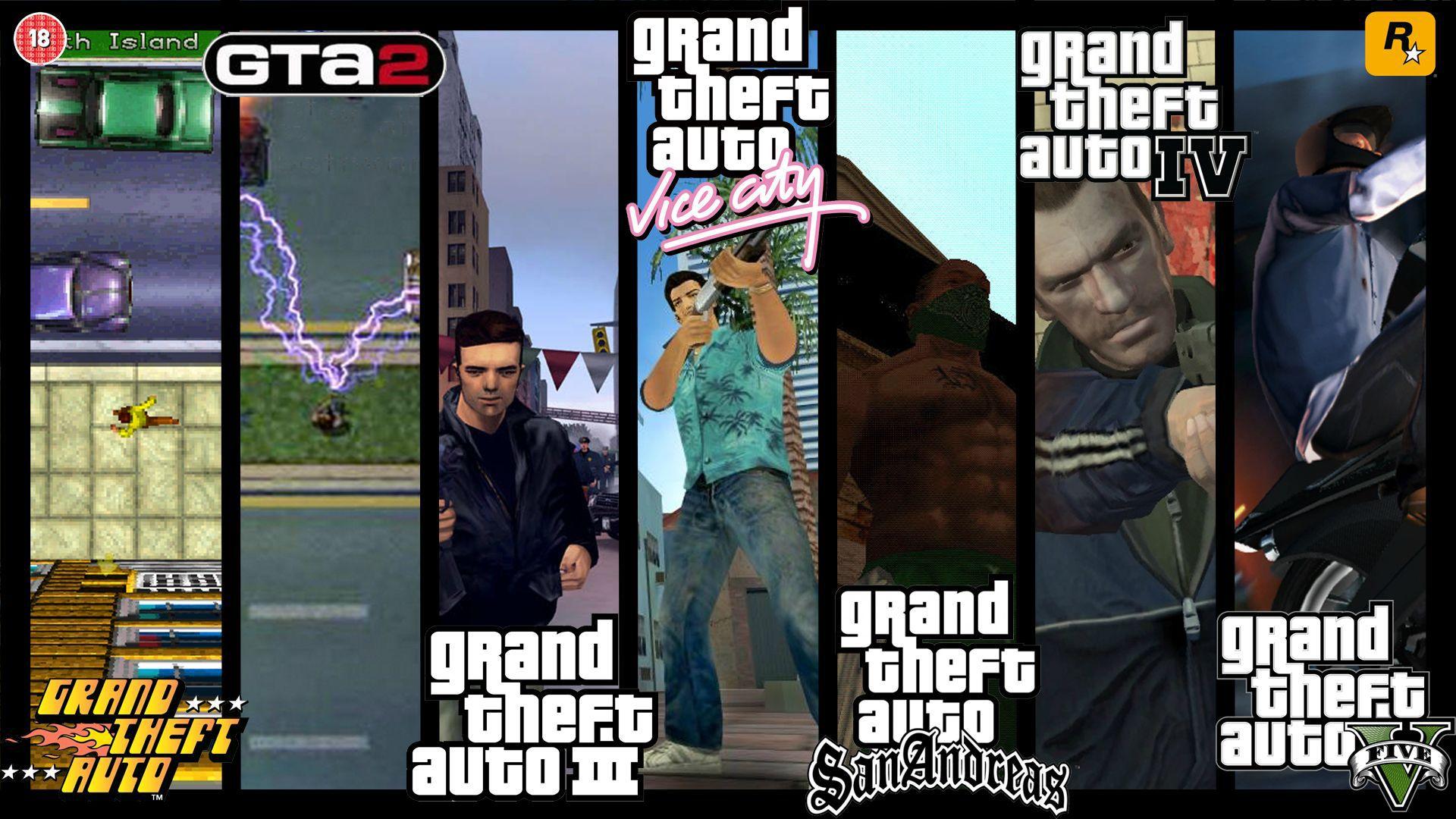 سازنده سری بازی های GTA 01111