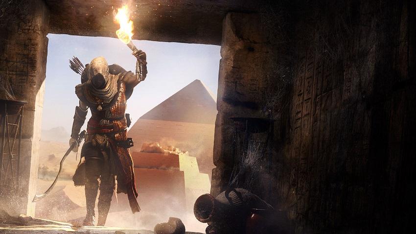 Gamescom 2017: تریلری سینمایی از عنوان Assassin's Creed: Origins منتشر شد